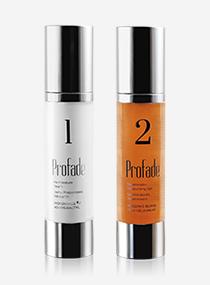 Tratamento Profade. Creme hidratante preparador para a pele e gel cicatrizante regenerador para todos os tipos de pele.